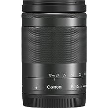 Canon Obiettivo per EOS M con Stabilizzatore d'Immagine a 4 Stop e STM, EF-M 18-150 mm f/3.5-6.3 IS STM, Nero