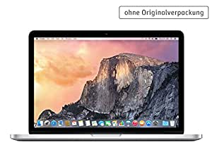 Apple MacBook Pro 33,02 cm (13 Zoll) Notebook (Intel-Core i5 4258U, 2,4GHz, 4 GB RAM, 128 GB SSD, Intel Iris Graphics, Mac OS) silber