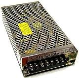 Geregeltes Netzteil, professioneller Transformator für den Dauereinsatz, Schalter 110-230 V, 50-60 Hz, Ausgang je 12 V / 10 A, für Leuchtstreifen und andere LED-Geräte, Videokameras, Überwachungsanlagen, Diebstahlschutz-Anlagen und weitere, maximal 120 W