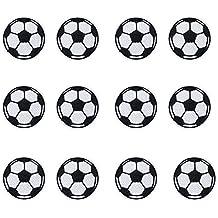 12pcs bola parches hierro en parches de fútbol de balón de fútbol para niños pantalones vaqueros