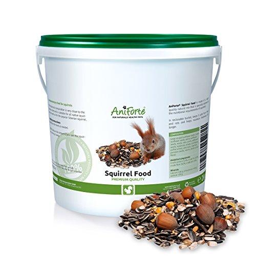 AniForte Garden Premium Squirrel Food 2kg- in a reclosable bucket Test