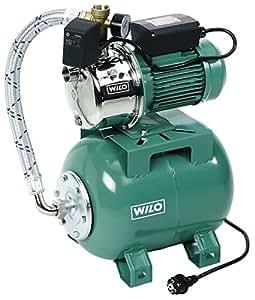 Wilo - Pompe eau froide - distribution d'eau - Surpresseur domestique MONO WILO-JET HWJ 202-Réservoir 20L-Eaux Claire