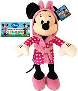 giocattolo peluche grande di minnie in cotone felpato giochi e giocattoli. Black Bedroom Furniture Sets. Home Design Ideas