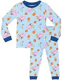 Peppa Pig Boys George Pig Pyjamas - Snuggle Fit - Ages 18 Months To 8 Years