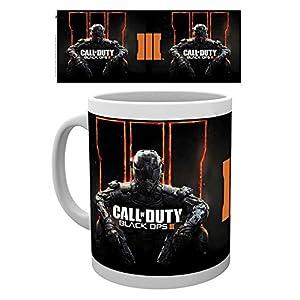 empireposter – Call of Duty – Cover Black Ops 3 – Größe (cm), ca. Ø8,5 H9,5 – Lizenz Tassen, NEU – Beschreibung: – Keramik Tasse, weiß, bedruckt, Fassungsvermögen 320 ml, offiziell lizenziert, spülmaschinen- und mikrowellenfest –