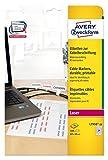 Avery Zweckform L7950-20 Etiketten (zur Kabelbeschriftung, A4, 480 Stück, 60 x 40 mm) 20 Blatt weiß