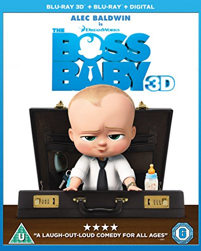 Bild von The Boss Baby [Blu-ray 3D + Blu-ray + Digital HD] [2017]