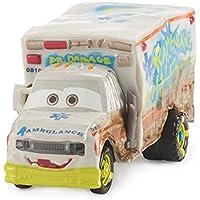 Cars 3 Coche Deluxe Dr. Damage - coches juguete (Mattel DXV93)
