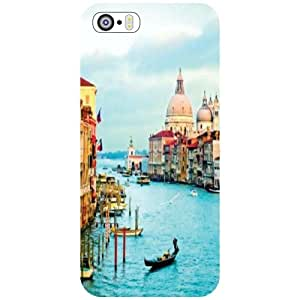 Printland Back Cover For Apple iPhone 5S - City Tour Phone Cover (Printed Designer)