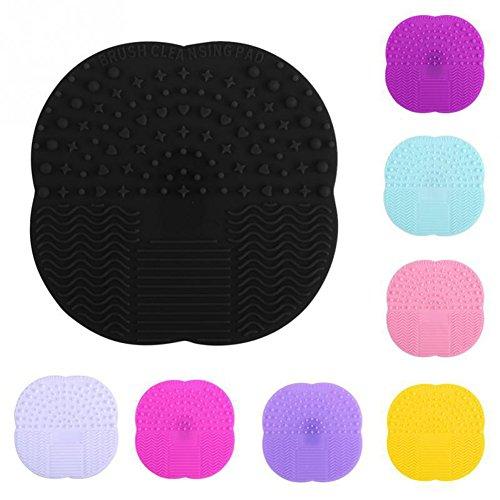 4x Mini Silikon-Make-up-Pinsel-/Kosmetikpinsel Reinigung Mat Silikonreinigungszubehör