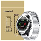 Ceston Metal Acier Classique Bracelet De Remplacement pour Smartwatch TicWatch Pro...