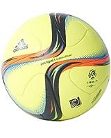 Pro Ligue 1 Official Match Football Solar Yellow/Iron Metallic/Silver Metallic