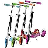 Art Sport Cityroller/Scooter in 4 Farben – klappbar & höhenverstellbar - mit High Rebound Rollen