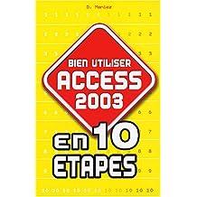 Bien utiliser Access 2003