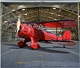 Garagentor Fotoplane Doppeldecker B 245 cm x H 210 cm