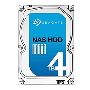 Seagate ST4000VN000 4TB NAS HDD SATA III 3.5 inch Internal Hard Disk Drive for 1- to 8-Bay NAS Systems