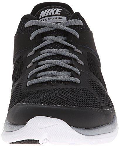 Nike  642791 008, Chaussures de course pour homme Noir, argenté, blanc, gris (Black / Mtllc Slvr-Cl Gry-White)