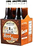 American Classics - Root Beer Soda 12oz (355ml) - 4 Pack All Natural Packed With Premium Ginseng