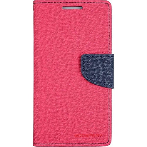 CLASSICO WALLET DAIRY FLIP COVER FOR SAMSUNG GALAXY CORE 2 (G355) (DARK PINK-BLUE)  available at amazon for Rs.184
