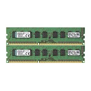 Kingston KVR1333D3E9SK2/16G Arbeitsspeicher 16GB (DDR3 ECC CL9 DIMM Kit, 240-pin)