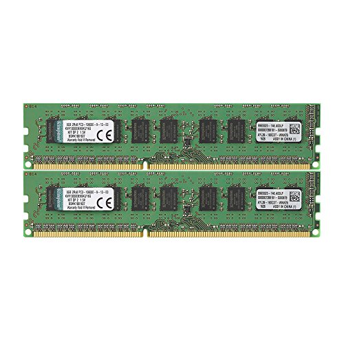 Kingston KVR(1333D3E9SK2/16G - Memoria RAM de 16 GB (1333 MHz DDR3 ECC CL9 DIMM Kit (2x8 GB) 240-pin)