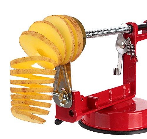 Twister Cutter (Kartoffel Spiral Schneider - Chips Slicer Twister - Cutter Maschine für Kartoffel - Edelstahl Kleingeräte)