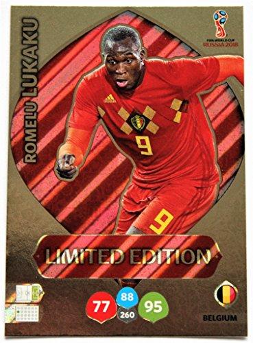 Panini Adrenalyn XL WM 2018 Russland - Lukaku Belgien Karte limited Edition