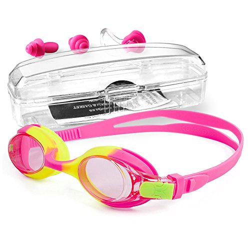 StillCool Kinder Schwimmbrille für Kinder Mit Schwimmkapp Nasenklammern Ohrenstöpselsets hohe...