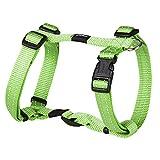 Kruuse Rogz Schlangen reflektierende Nylon Hundegeschirr (16mm) (Limettengrün)