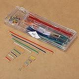 Bluelover 140Pcs U Shape Sans Soudure Breadboard Jumper Cable Wire Arduino Shield