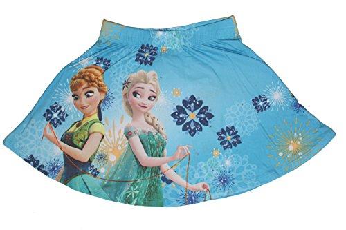 Disney Frozen Die Eiskönigin Mädchen Rock (116, Hellblau 2) (Bischofs Blau Kleid)