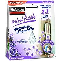 Rubson 1940377 minifresh Lavande-2 sachets 50 g, Blanc
