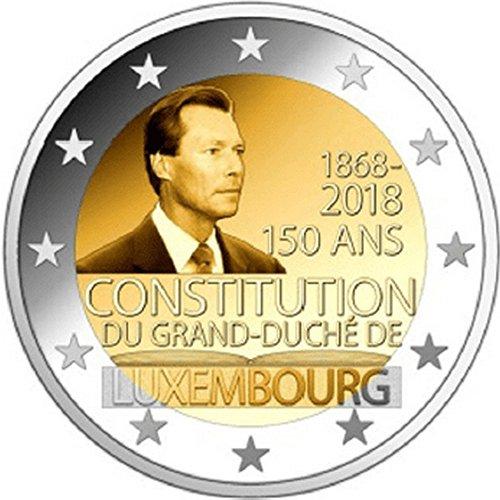"""Luxemburgo 2018 """"150 ° aniversario de la Constitución"""""""