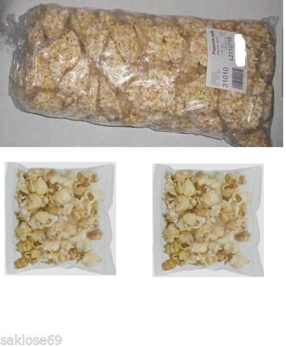 800 Beutel Bussy Popcorn karneval Fasching Wurfmaterial a 8g Mini Saison Popkorn