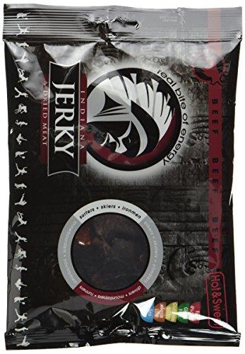 Indiana Jerky Beef Hot&Sweet, 2er Pack (2 x 100 g)