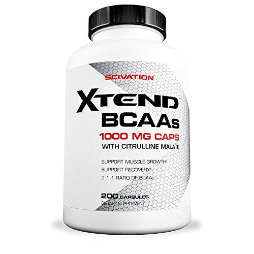 Scivation Xtend BCAA Caps (200) Standard, 200 g