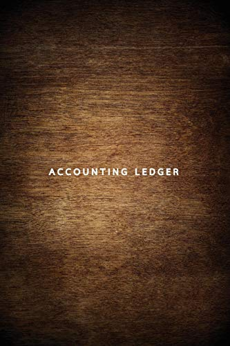 Accounting Ledger: Simple Ledger Income & Expenses Cash Book, Bookkeeping Ledger