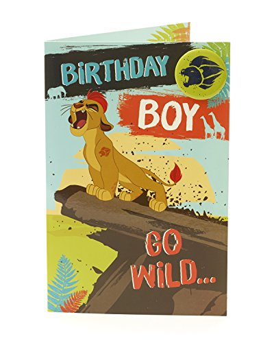 sney The Lion Guard Birthday Boy Karte ()