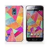 Coque Samsung Galaxy S5 mini de chez Skinkin - Design original : Colorful Stone par Elisabeth Fredriksson