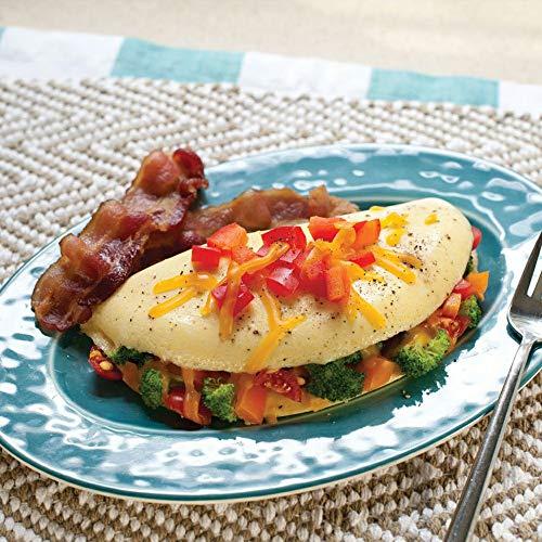 51W7jUmfMYL. SS500  - Microwave Egg Cooker/Poacher Omelet Maker/Steamer Pan Home Kitchen Mold Tool (White)