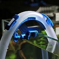kangql Manguera de filtración de agua para acuario, para plantas vivas, camarón de peces, herramienta de cierre de tanque, color azul