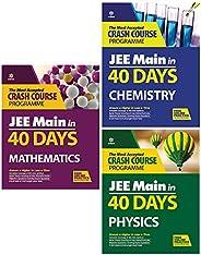 40 Days Crash Course for JEE Main Mathematics + 40 Days Crash Course for JEE Main Chemistry + 40 Days Crash Co