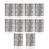BESTOMZ 10 pz in acciaio inox finestra armadio cerniere connettori (argento)