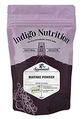 Maitake Mushroom Powder - 100g (Quality Assured) by Indigo Herbs