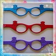 6 gafas de goma eva ideal para fofuchas o cualquier muñeca (Para bolas de 3-4-5 cm)