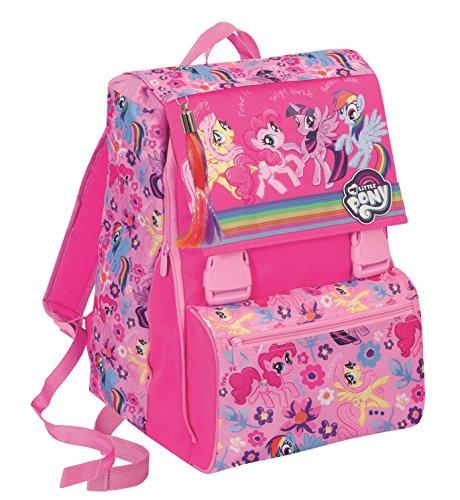 Zaino scuola estensibile - my little pony - rosa 31lt