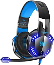 G2000 Stereo Gaming Headsets Headphones with MIC for PS3 PS4 Xbox ONE 360 PC Computer Laptop Macbook-Blue