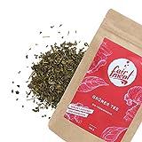Premium Bio Teemischungen von Fairment®, für Kombucha geeignet, 100g (Grüner Tee/Jun Tee Mischung)