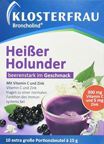Klosterfrau Heißer Holunder, 10 Stück -