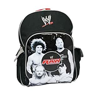 Sac à dos Catch WWE 27cm x 35cm x 10cm Raw Enfant